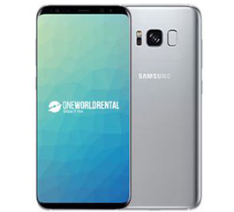 samsung s8 for hire