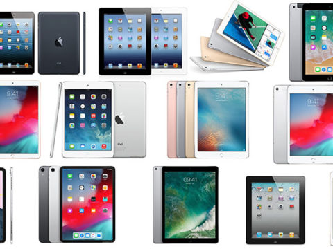 History of all iPad